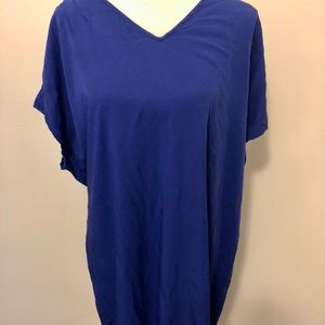 Royal Blue Old Navy XL Shirt Dress Skirt Top Tee